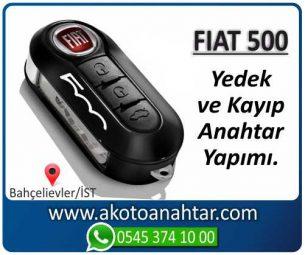 Fiat 500 Araba Oto Otomobil Car Sustalı Yedek Kayıp Kumanda Kumandalı İmmobilizer Anahtar Anahtarı Çilingir Anahtarcı Acil Kopyalama Kodlama Locksmith Key Bahçelievler İstanbul Kayboldu Dönmüyor Okumuyor Orjinal Kontak Tamir Tamiri Çip