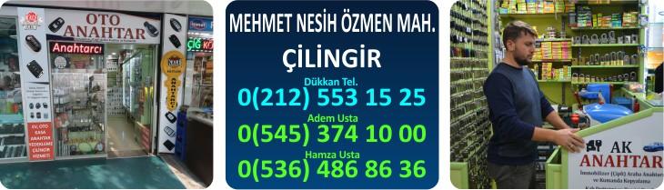 mehmet nesih özmen cilingir anahtarci  - Mehmet Nesih Özmen Mah. Çilingir | Acil Tel : 0545 374 10 00