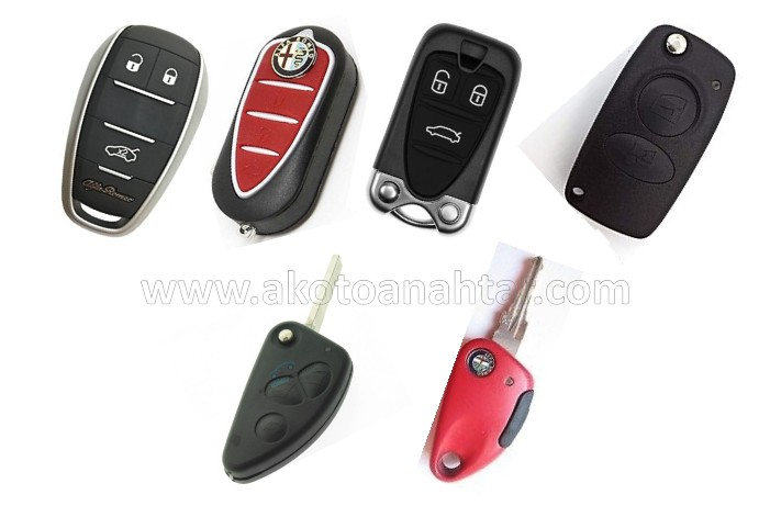 alfa rome alfaromeo anahtarlari anahtari - Alfa Romeo Yedek Oto Anahtarı | Çoğaltma ve Çilingir Hizmetleri