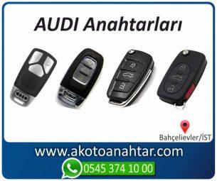 Audi Oto Otomobil Araba Immobilizer Kumandalı Sustalı Key Remote Yedek Acil Kumanda Kayıp Anahtar Anahtarı Kumandası Kopyalama Çoğaltma