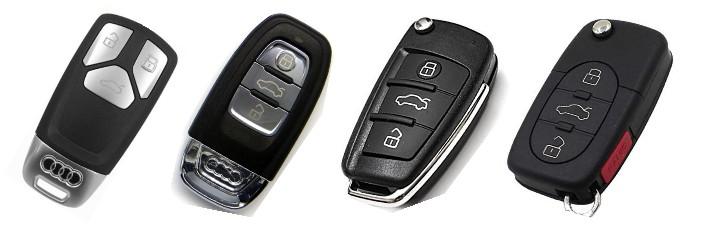 audi anahtarlari - Audi Yedek Oto Anahtarı | Çoğaltma ve Çilingir Hizmetleri