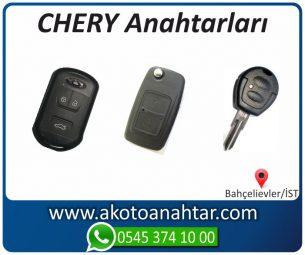 Chery Alfaromeo Yedek Acil Kumanda Kayıp Anahtar Anahtarı Kumandası Kopyalama Çoğaltma Orjinal Orj Keys Original Smart
