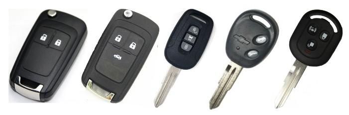 chevrolet anahtarlari  - Chevrolet Yedek Oto Anahtarı | Çoğaltma ve Çilingir Hizmetleri
