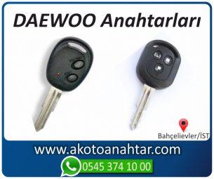 Daewoo Alfaromeo Yedek Acil Kumanda Kayıp Anahtar Anahtarı Kumandası Kopyalama Çoğaltma Orjinal Orj Keys Original Smart