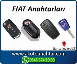 Fiat Oto Otomobil Araba Immobilizer Kumandalı Sustalı Key Remote Yedek Acil Kumanda Kayıp Anahtar Anahtarı Kumandası Kopyalama Çoğaltma