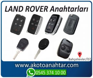Land Rover Landrover Yedek Acil Kumanda Kayıp Anahtar Anahtarı Kumandası Kopyalama Çoğaltma Orjinal Orj Keys Original Smart