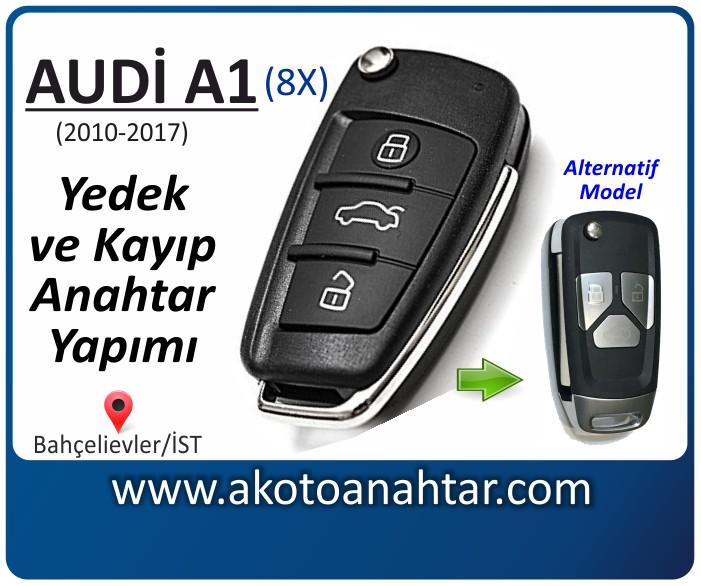 audi a1 8x anahtari anahtar key yedek yaptirma fiyati kopyalama cogaltma kayip 2010 2011 2012 2013 2014 2015 2016 2017 model model - Audi A1 Anahtarı | Yedek ve Kayıp Anahtar Yapımı