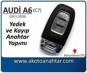 Audi A6 (c7) Araba Oto Otomobil Car Sustalı Yedek Kayıp Kumanda Kumandalı İmmobilizer Anahtar Anahtarı Çilingir Anahtarcı Acil Kopyalama Kodlama Locksmith Key Bahçelievler İstanbul Kayboldu Dönmüyor Okumuyor Orjinal Kontak Tamir Tamiri Çip