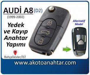 Audi A8 Araba Oto Otomobil Car Sustalı Yedek Kayıp Kumanda Kumandalı İmmobilizer Anahtar Anahtarı Çilingir Anahtarcı Acil Kopyalama Kodlama Locksmith Key Bahçelievler İstanbul Kayboldu Dönmüyor Okumuyor Orjinal Kontak Tamir Tamiri Çip