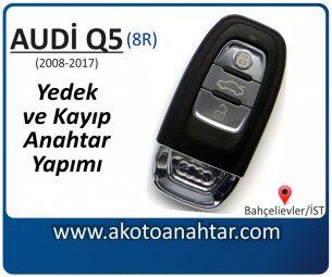 Audi Q5 Araba Oto Otomobil Car Sustalı Yedek Kayıp Kumanda Kumandalı İmmobilizer Anahtar Anahtarı Çilingir Anahtarcı Acil Kopyalama Kodlama Locksmith Key Bahçelievler İstanbul Kayboldu Dönmüyor Okumuyor Orjinal Kontak Tamir Tamiri Çip