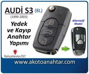 Audi S3 Araba Oto Otomobil Car Sustalı Yedek Kayıp Kumanda Kumandalı İmmobilizer Anahtar Anahtarı Çilingir Anahtarcı Acil Kopyalama Kodlama Locksmith Key Bahçelievler İstanbul Kayboldu Dönmüyor Okumuyor Orjinal Kontak Tamir Tamiri Çip