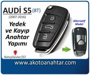 Audi S5 Araba Oto Otomobil Car Sustalı Yedek Kayıp Kumanda Kumandalı İmmobilizer Anahtar Anahtarı Çilingir Anahtarcı Acil Kopyalama Kodlama Locksmith Key Bahçelievler İstanbul Kayboldu Dönmüyor Okumuyor Orjinal Kontak Tamir Tamiri Çip