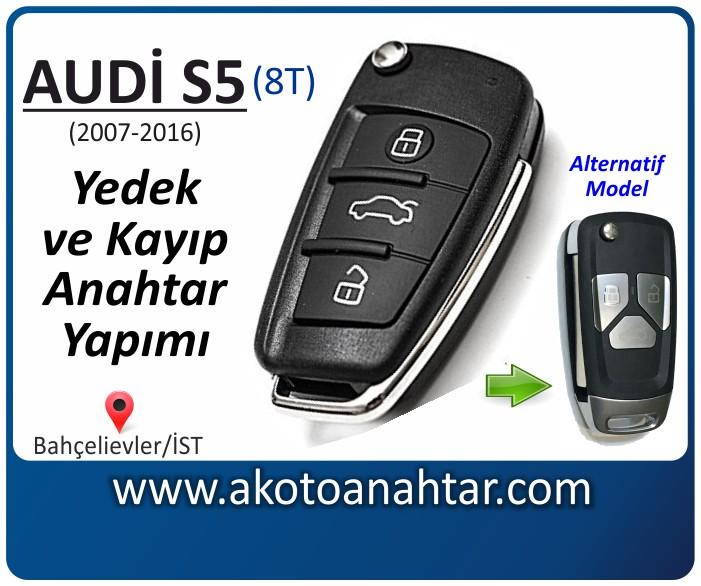 audi s5 8t anahtari anahtar key yedek yaptirma fiyati kopyalama cogaltma kayip 2007 2008 2009 2010 2011 2012 2013 2014 2015 2016 model model - Audi S5 Anahtarı | Yedek ve Kayıp Anahtar Yapımı