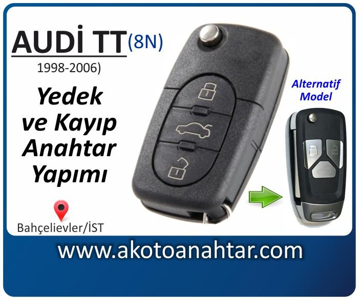 audi tt 8n anahtari anahtar key yedek yaptirma fiyati kopyalama cogaltma kayip 1998 1999 2000 2001 2002 2003 2004 2005 2006 model model - Audi Tt Anahtarı | Yedek ve Kayıp Anahtar Yapımı