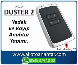 Dacia Duster 2 Araba Oto Otomobil Car Sustalı Yedek Kayıp Kumanda Kumandalı İmmobilizer Anahtar Anahtarı Çilingir Anahtarcı Acil Kopyalama Kodlama Locksmith Key Bahçelievler İstanbul Kayboldu Dönmüyor Okumuyor Orjinal Kontak Tamir Tamiri Çip
