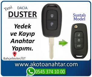 Dacia Duster Araba Oto Otomobil Car Sustalı Yedek Kayıp Kumanda Kumandalı İmmobilizer Anahtar Anahtarı Çilingir Anahtarcı Acil Kopyalama Kodlama Locksmith Key Bahçelievler İstanbul Kayboldu Dönmüyor Okumuyor Orjinal Kontak Tamir Tamiri Çip