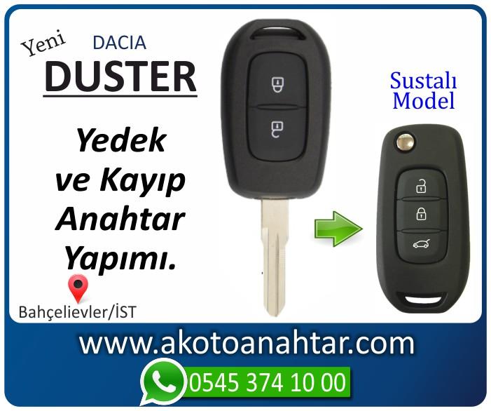 dacia yeni duster anahtari anahtar key yedek kayip 2014 2015 2016 2017 - Dacia Yeni Duster Anahtarı | Yedek ve Kayıp Anahtar Yapımı Stepway