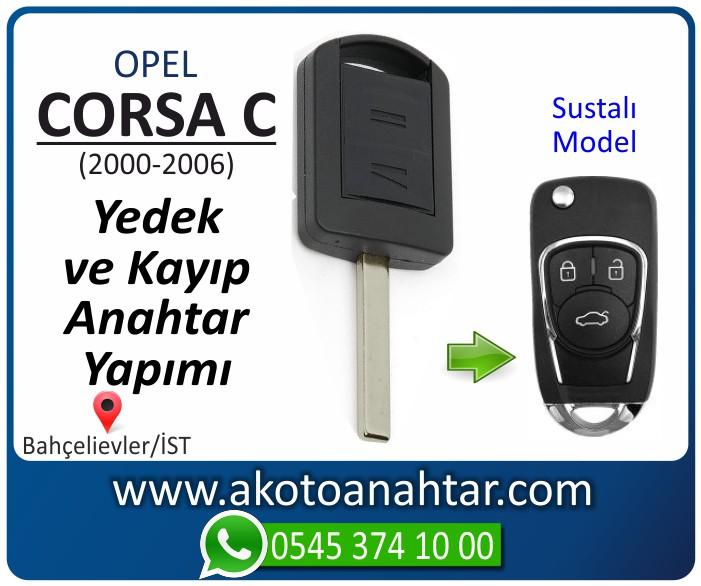 opel corsa c anahtari anahtar key yedek yaptirma fiyati kopyalama cogaltma kayip 2000 2001 2002 2003 2004 2005 2006 model - Opel Corsa C Anahtarı | Yedek ve Kayıp Anahtar Yapımı