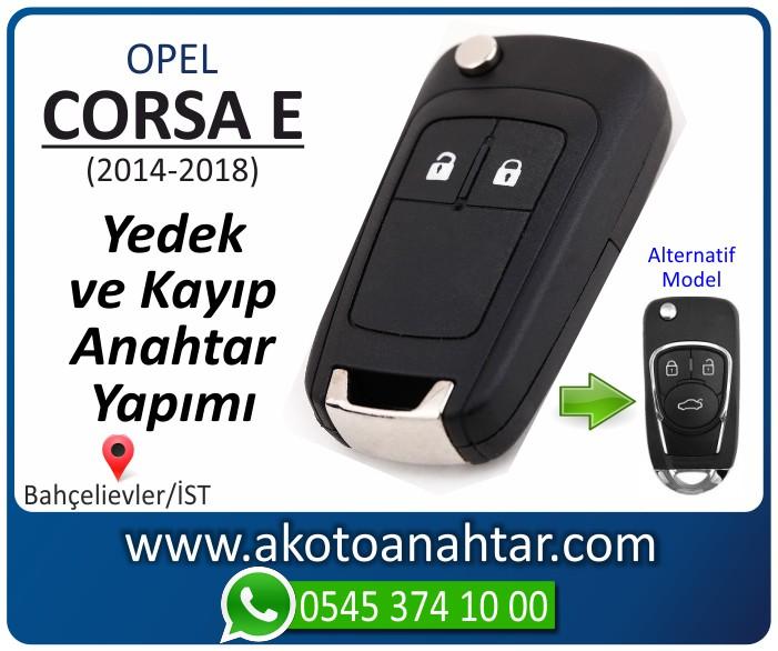 opel corsa e anahtari anahtar key yedek yaptirma fiyati kopyalama cogaltma kayip 2014 2015 2016 2017 2018 model - Opel Corsa E Anahtarı | Yedek ve Kayıp Anahtar Yapımı