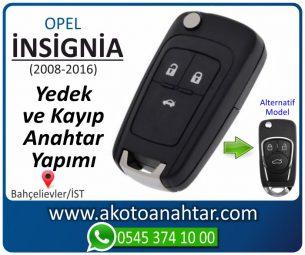 Opel İnsignia Araba Oto Otomobil Car Sustalı Yedek Kayıp Kumanda Kumandalı İmmobilizer Anahtar Anahtarı Çilingir Anahtarcı Acil Kopyalama Kodlama Locksmith Key Bahçelievler İstanbul Kayboldu Dönmüyor Okumuyor Orjinal Kontak Tamir Tamiri Çip