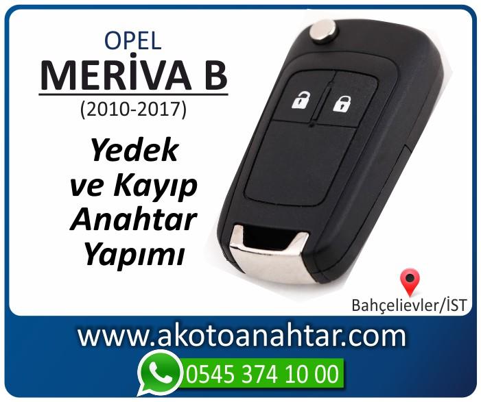 opel meriva b anahtari anahtar key yedek yaptirma fiyati kopyalama cogaltma kayip 2010 2011 2012 2013 2014 2015 2016 2017 model - Opel Meriva B Anahtarı | Yedek ve Kayıp Anahtar Yapımı