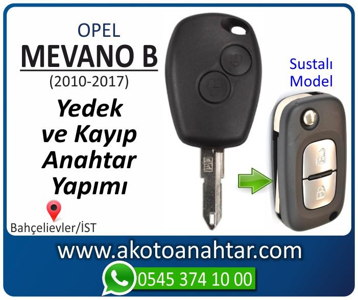 opel mevano b anahtari anahtar key yedek yaptirma fiyati kopyalama cogaltma kayip 2010 2011 2012 2013 2014 2015 2016 2017 model - Opel Mevano B Anahtarı | Yedek ve Kayıp Anahtar Yapımı