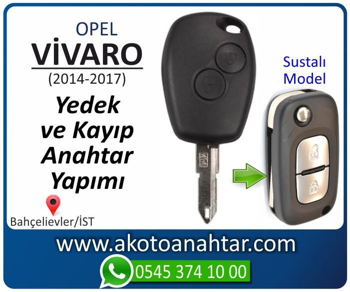 opel vivaro 2 anahtari anahtar key yedek yaptirma fiyati kopyalama cogaltma kayip 2006 2007 2008 2009 2010 2011 2012 2013 2014 model - Opel Vivaro 2 Anahtarı   Yedek ve Kayıp Anahtar Yapımı