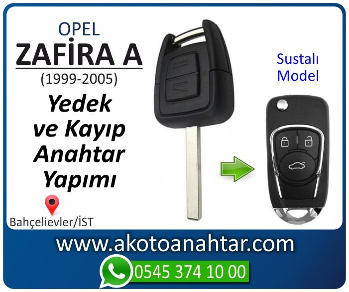 opel zafira a anahtari anahtar key yedek yaptirma fiyati kopyalama cogaltma kayip 1999 2000 2001 2002 2003 2004 2005 model - Opel Zafira A Anahtarı | Yedek ve Kayıp Anahtar Yapımı