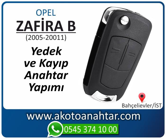 opel zafira b anahtari anahtar key yedek yaptirma fiyati kopyalama cogaltma kayip 2005 2006 2007 2008 2009 2010 2011 model - Opel Zafira B Anahtarı | Yedek ve Kayıp Anahtar Yapımı