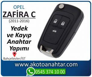 Opel Zafira C Araba Oto Otomobil Car Sustalı Yedek Kayıp Kumanda Kumandalı İmmobilizer Anahtar Anahtarı Çilingir Anahtarcı Acil Kopyalama Kodlama Locksmith Key Bahçelievler İstanbul Kayboldu Dönmüyor Okumuyor Orjinal Kontak Tamir Tamiri Çip