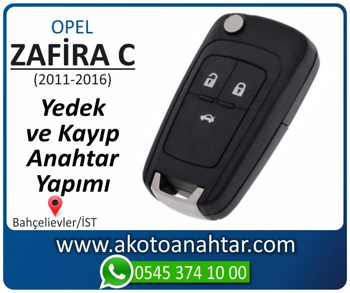 opel zafira c anahtari anahtar key yedek yaptirma fiyati kopyalama cogaltma kayip 2016 2017 2018 model - Opel Zafira C Anahtarı | Yedek ve Kayıp Anahtar Yapımı