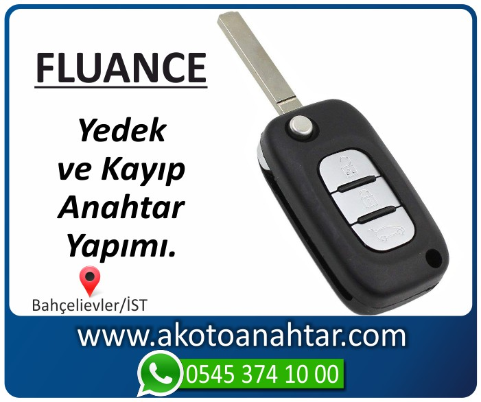 renault fluance anahtari anahtar key yedek kayip 2009 2010 2011 2012 2013 2014 2015 - Renault Fluance Anahtarı   Yedek ve Kayıp Anahtar Yapımı