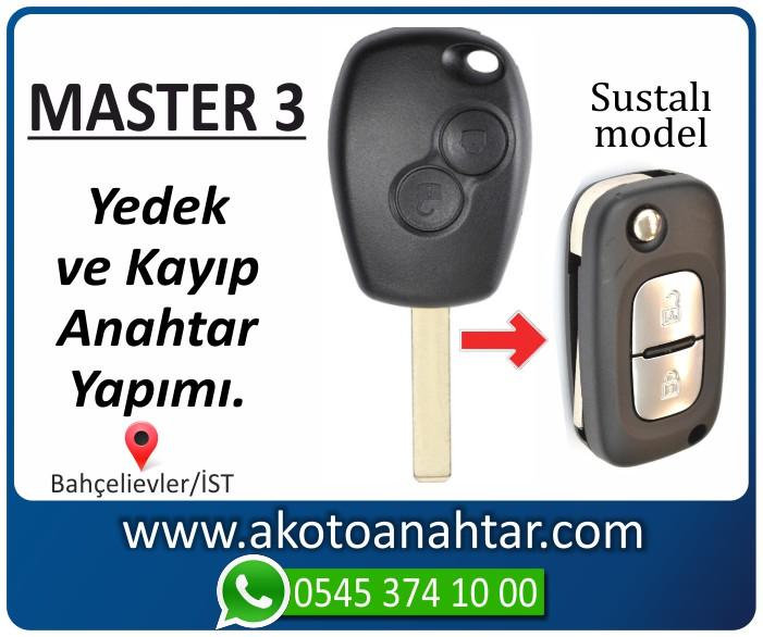 renault master 3 anahtari anahtar key yedek kayip 2010 2011 2012 2013 2014 2015 2016 2017 2018 - Renault Master 3 Anahtarı | Yedek ve Kayıp Anahtar Yapımı