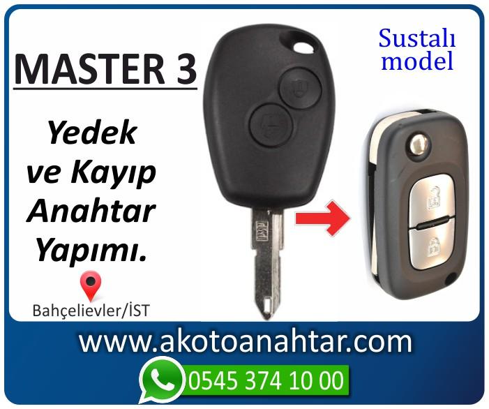 renault master 3 anahtari anahtar key yedek kayip 2010 2011 2012 2013 2014 - Renault Master 3 Anahtarı | Yedek ve Kayıp Anahtar Yapımı