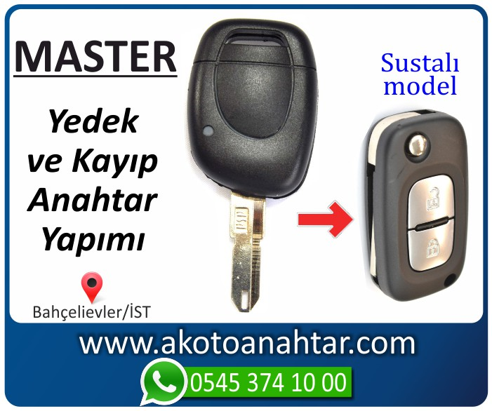renault master anahtari anahtar key yedek kayip 2002 2003 2004 2005 2006 - Renault Master Anahtarı   Yedek ve Kayıp Anahtar Yapımı