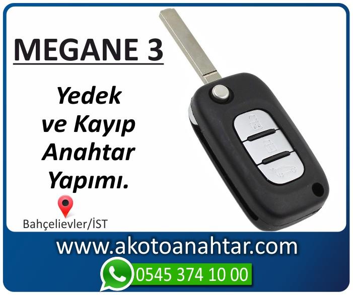 renault megane 3 anahtari anahtar key yedek kayip 2009 2010 2011 2012 2013 2014 2015 - Renault Megane 3 Kart | Yedek ve Kayıp Anahtar Yapımı