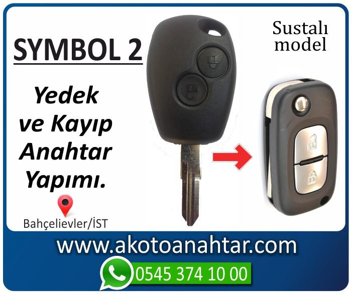 renault symbol 2 anahtari anahtar key yedek kayip 2001 2002 2003 2004 2005 2006 2007 2008 - Renault Symbol 2 Anahtarı | Yedek ve Kayıp Anahtar Yapımı