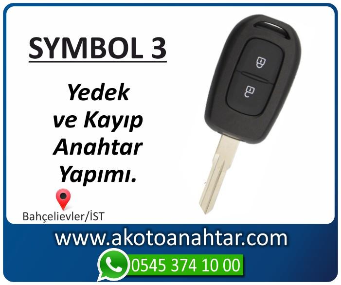 renault symbol 3 anahtari anahtar key yedek kayip 2013 2014 2015 2016 2017 2018 - Renault Symbol 3 Anahtarı | Yedek ve Kayıp Anahtar Yapımı