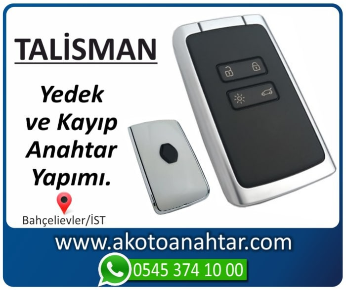 renault talisman kart anahtari key yedek kayip 2015 2016 2017 2018 2019 - Renault Talisman Kart Anahtarı   Yedek ve Kayıp Anahtar Yapımı
