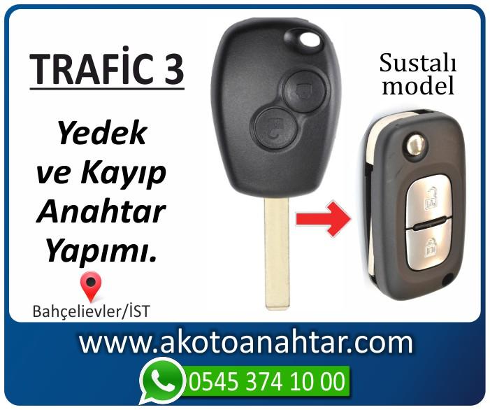 renault trafic 3 anahtari anahtar key yedek kayip 2014 2015 2016 2017 2018 - Renault Trafic 3 Anahtarı | Yedek ve Kayıp Anahtar Yapımı