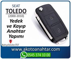 Seat Toledo Araba Oto Otomobil Car Sustalı Yedek Kayıp Kumanda Kumandalı İmmobilizer Anahtar Anahtarı Çilingir Anahtarcı Acil Kopyalama Kodlama Locksmith Key Bahçelievler İstanbul Kayboldu Dönmüyor Okumuyor Orjinal Kontak Tamir Tamiri Çip
