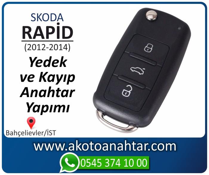 skoda rapid anahtari anahtar key yedek yaptirma fiyati kopyalama cogaltma kayip 2012 2013 2014 model - Skoda Rapid Anahtarı | Yedek ve Kayıp Anahtar Yapımı