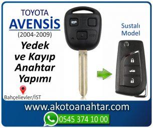 Toyota Avensis Araba Oto Otomobil Car Sustalı Yedek Kayıp Kumanda Kumandalı İmmobilizer Anahtar Anahtarı Çilingir Anahtarcı Acil Kopyalama Kodlama Locksmith Key Bahçelievler İstanbul Kayboldu Dönmüyor Okumuyor Orjinal Kontak Tamir Tamiri Çip