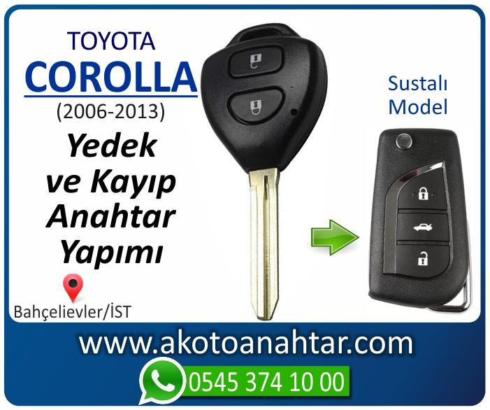 toyota corolla anahtari anahtar key yedek yaptirma fiyati kopyalama cogaltma kayip 2006 2007 2008 2009 2010 2011 2012 2013 model - Toyota Corolla Anahtarı | Yedek ve Kayıp Anahtar Yapımı