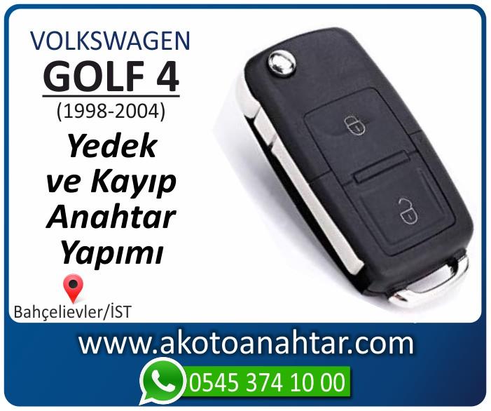 volkswagen vw golf 4 anahtari anahtar key yedek yaptirma fiyati kopyalama cogaltma kayip 1998 1999 2000 2001 2002 2003 2004 model - VW Volkswagen Golf 4 Anahtarı | Yedek ve Kayıp Anahtar Yapımı