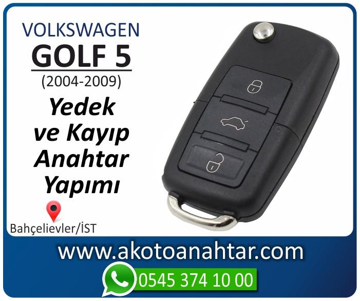 volkswagen vw golf 5 anahtari anahtar key yedek yaptirma fiyati kopyalama cogaltma kayip 2004 2005 2006 2007 2008 2009 model - VW Volkswagen Golf 5 Anahtarı | Yedek ve Kayıp Anahtar Yapımı