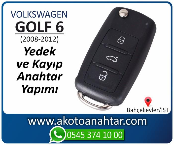 volkswagen vw golf 6 anahtari anahtar key yedek yaptirma fiyati kopyalama cogaltma kayip 2008 2009 2010 2011 2012 model - VW Volkswagen Golf 6 Anahtarı | Yedek ve Kayıp Anahtar Yapımı