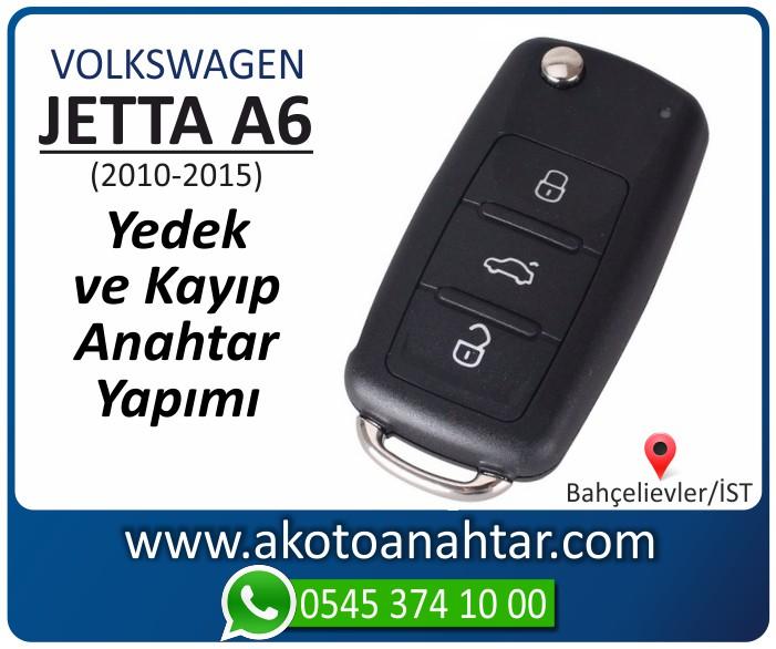 volkswagen vw jetta a6 anahtari anahtar key yedek yaptirma fiyati kopyalama cogaltma kayip 2010 2011 2012 2013 2014 2015 model - VW Volkswagen Jetta A6 Anahtarı | Yedek ve Kayıp Anahtar Yapımı