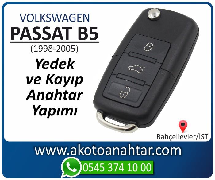 volkswagen vw passat b5 anahtari anahtar key yedek yaptirma fiyati kopyalama cogaltma kayip 1998 1999 2000 2001 2002 2003 2004 2005 model - VW Volkswagen Passat B5 Anahtarı | Yedek ve Kayıp Anahtar Yapımı