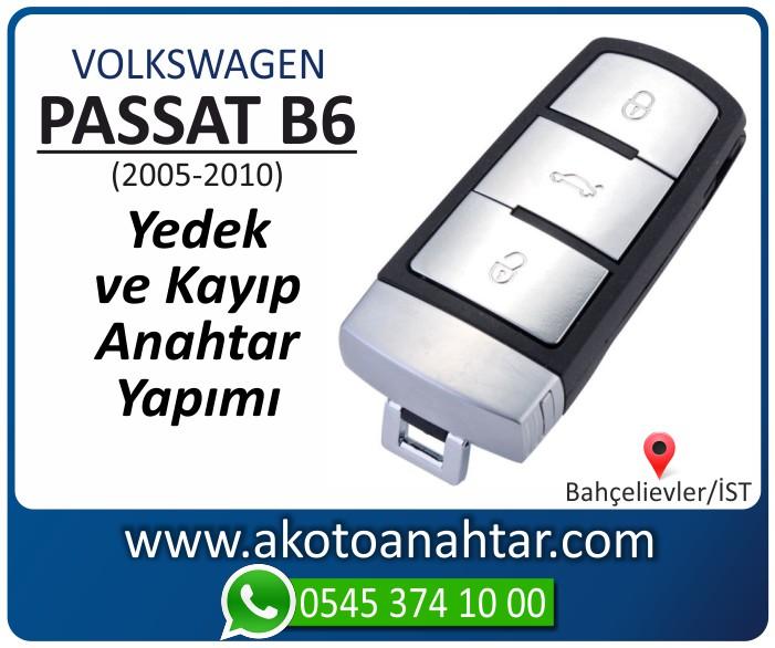 volkswagen vw passat b6 anahtari anahtar key yedek yaptirma fiyati kopyalama cogaltma kayip 2005 2006 2007 2008 2009 2010 model - VW Volkswagen Passat B6 Anahtarı | Yedek ve Kayıp Anahtar Yapımı